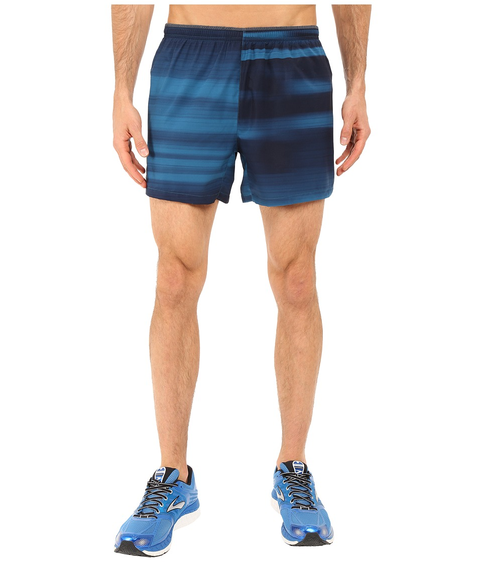 Brooks - Sherpa 5 Shorts (River Blur) Men's Shorts