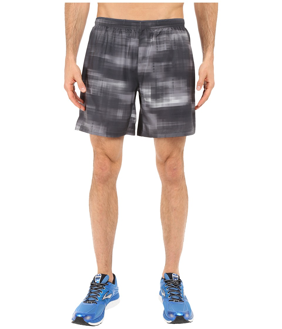 Brooks - Sherpa 7 2-in-1 Shorts (Asphalt Haze) Men's Shorts
