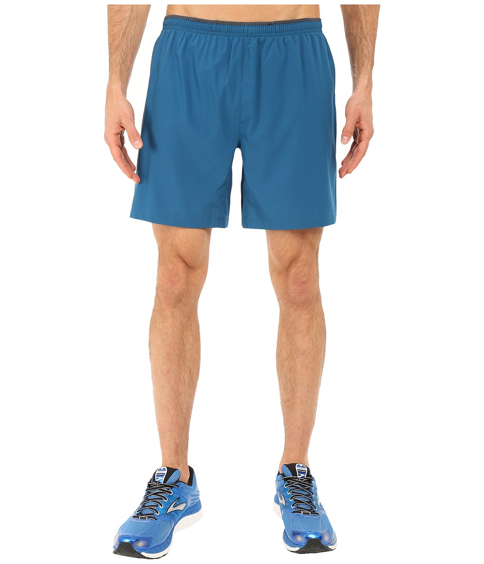 Brooks - Sherpa 7 2-in-1 Shorts (River) Men's Shorts
