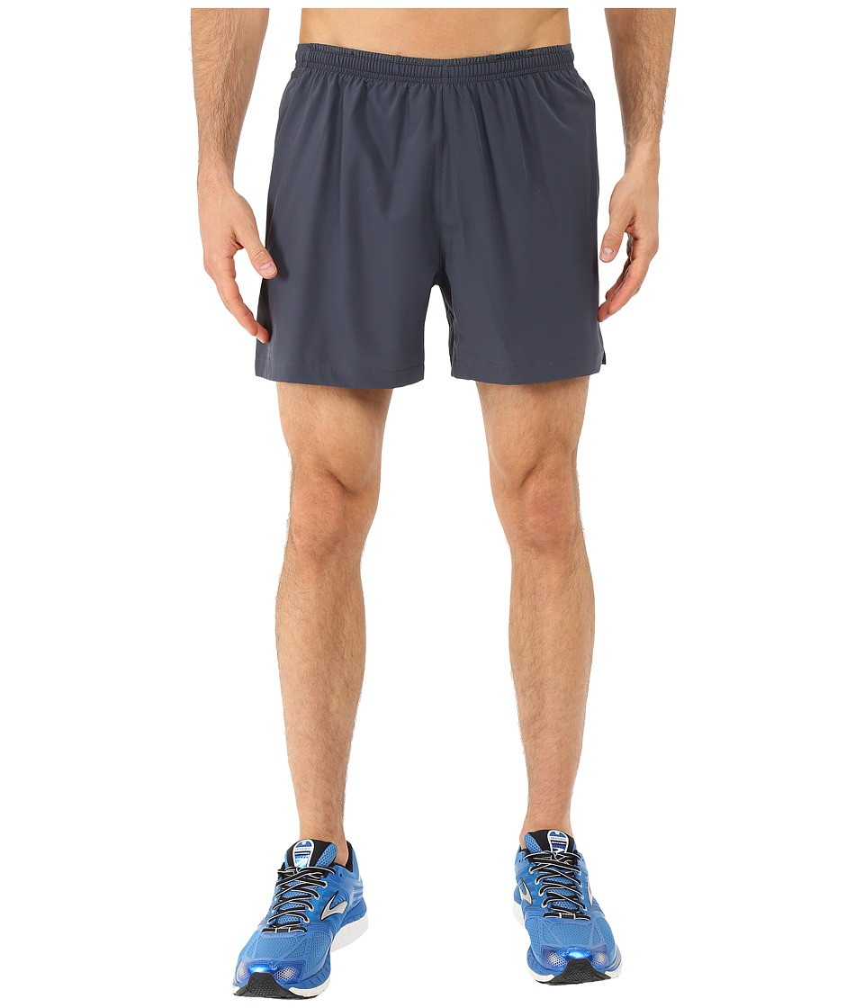 Brooks - Sherpa 5 2-in-1 Shorts (Asphalt) Men's Shorts