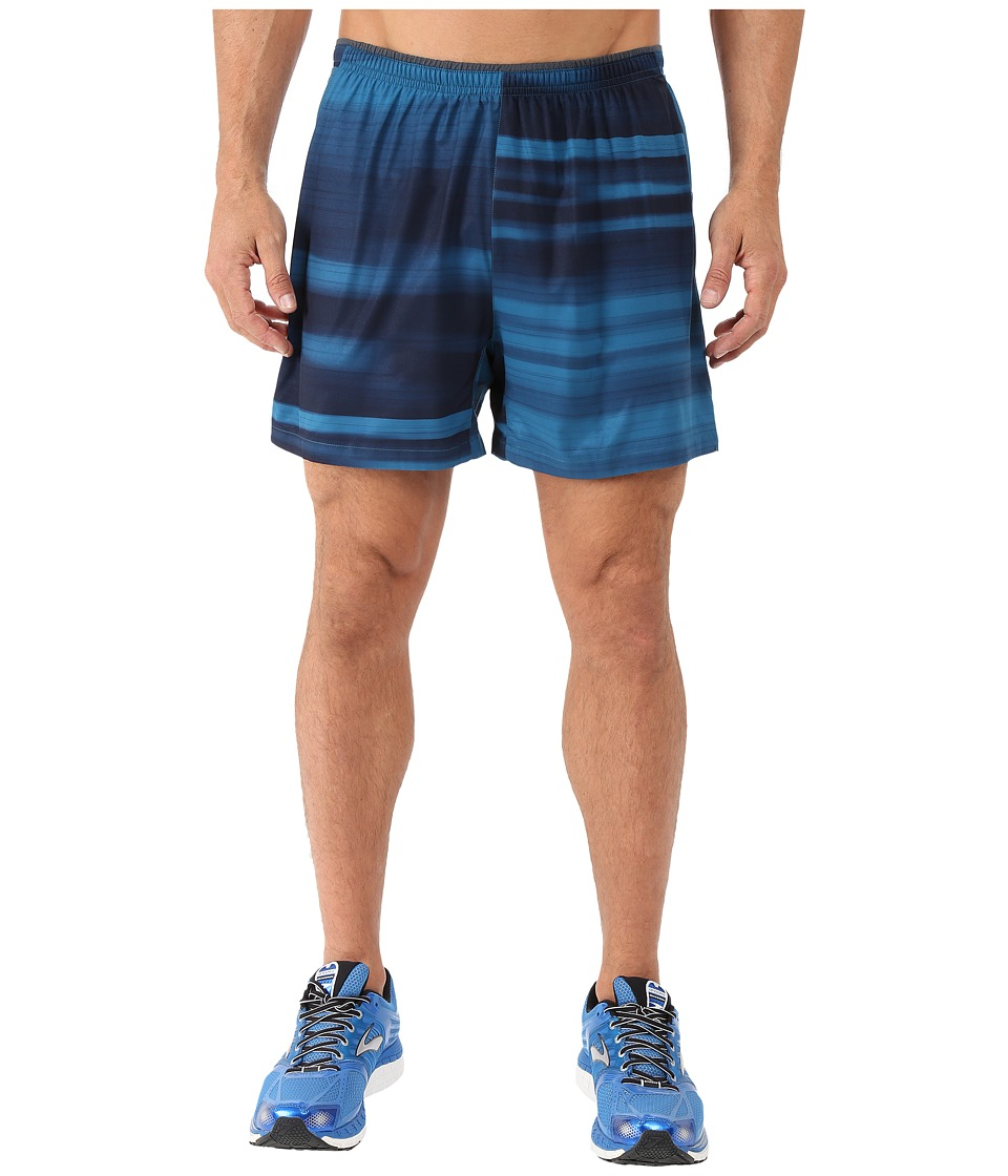 Brooks - Sherpa 5 2-in-1 Shorts (River Blur) Men's Shorts