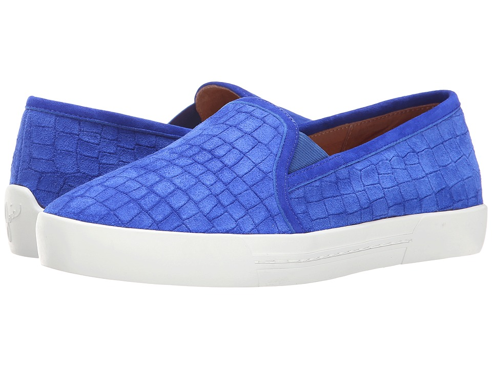 Joie - Huxley (Deep Indigo Crocco) Women's Slip on Shoes