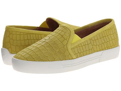 Joie - Huxley (Acid Lime Crocco) Women's Slip on Shoes