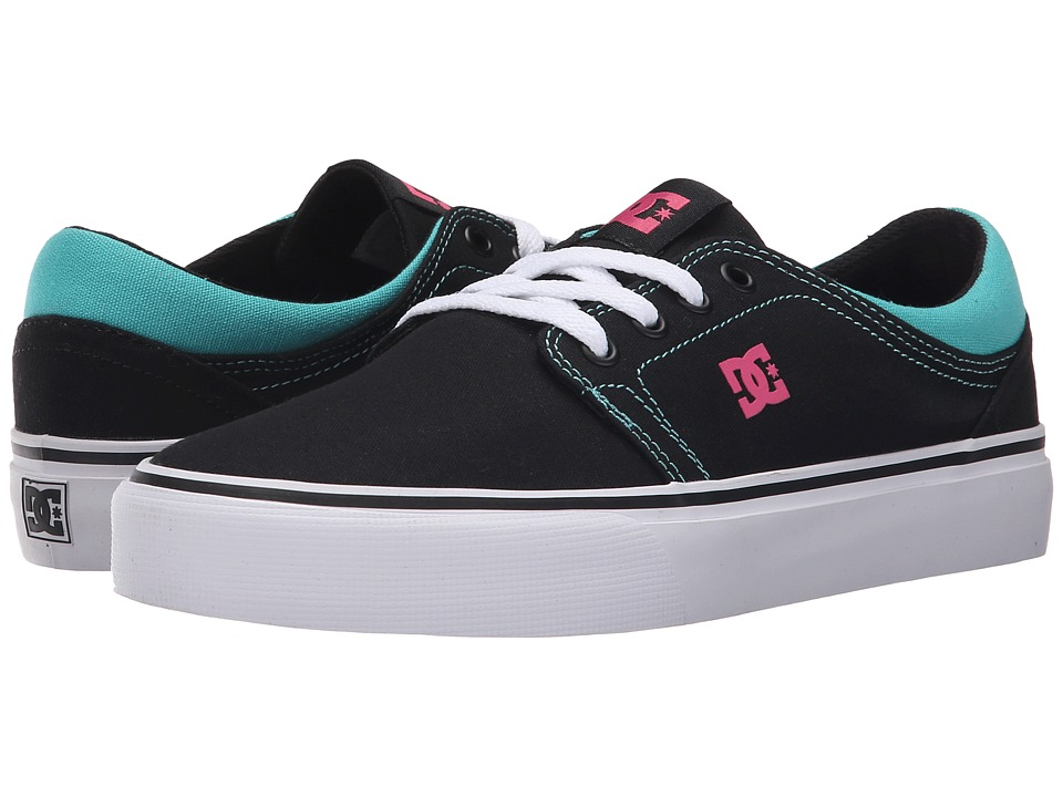 DC - Trase TX (Black/C Pink/Rejects) Women's Skate Shoes