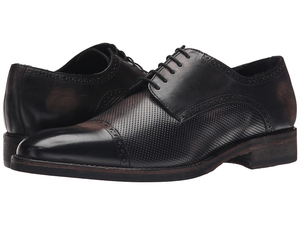 Messico - Alan (Black Vintage Leather) Men's Shoes