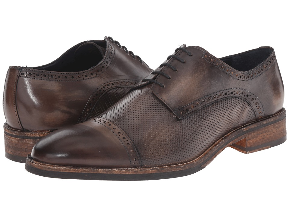 Messico - Alan (Grey Vintage Leather) Men's Shoes