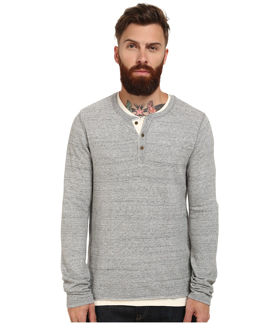 Scotch & Soda - Home Alone Double Layer Henley (DessinA) Men