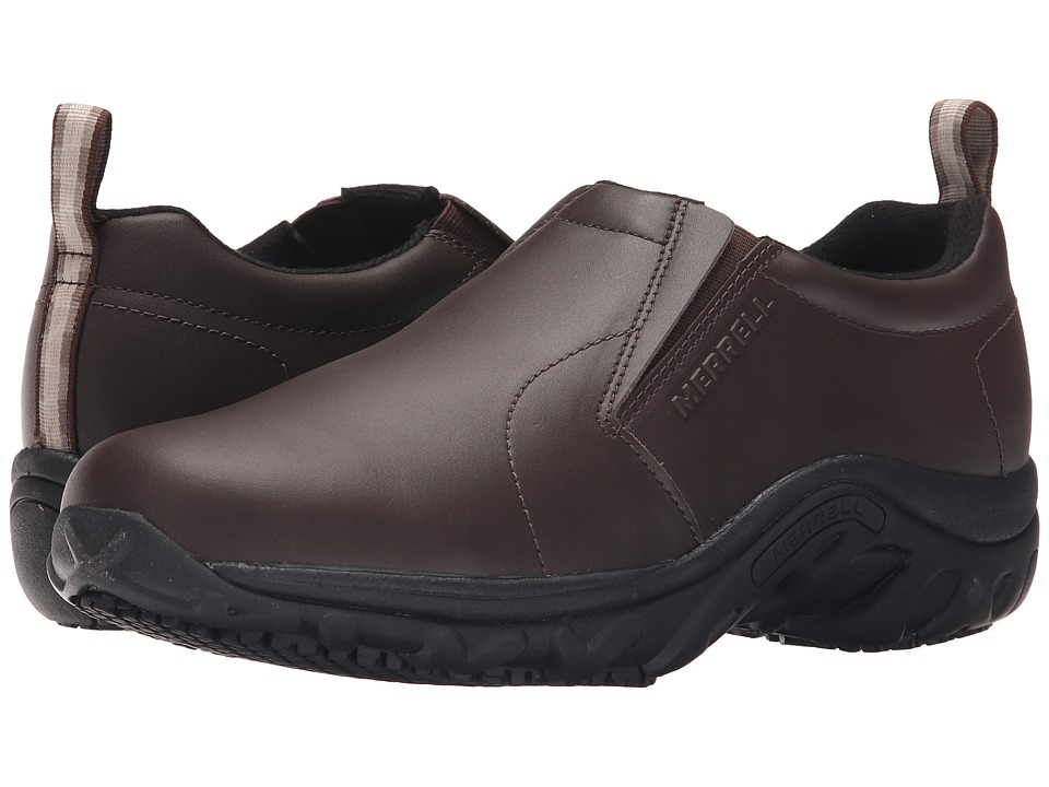 Merrell - Jungle Moc Pro Grip (Espresso) Men's Slip on Shoes