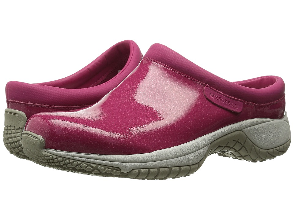 Merrell - Encore Slide Pro Shine (Fuchsia) Women's Slip on Shoes