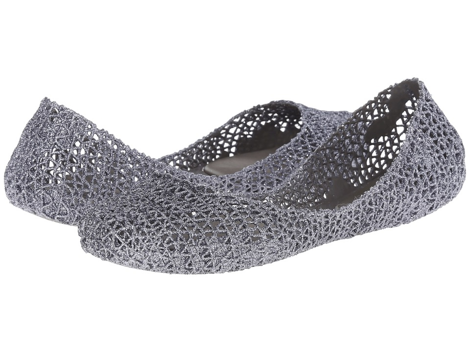 Melissa Shoes Campana Papel (Silver) Women