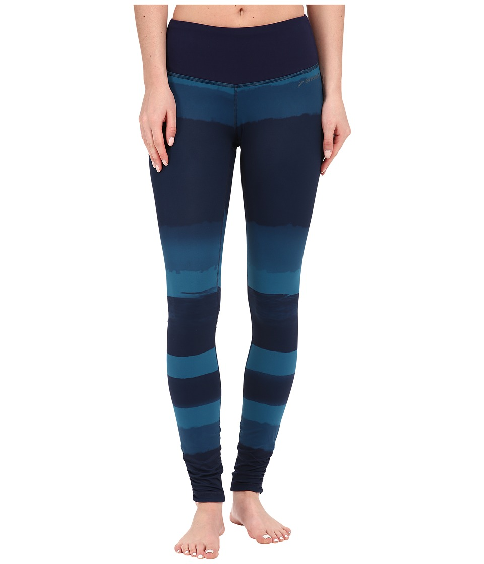 Brooks - Greenlight Tights SE (River Scape/River) Women's Casual Pants