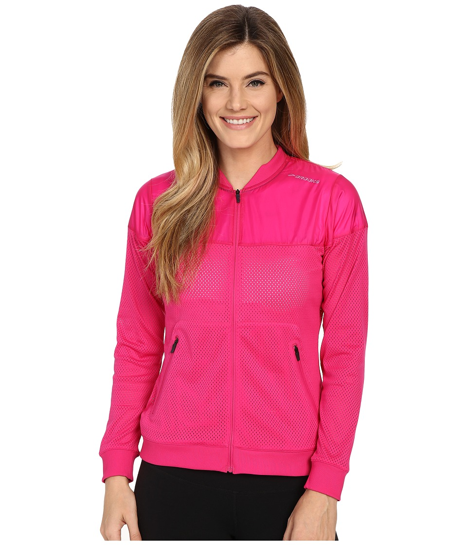 Brooks - Run-Thru Jacket (Bloom) Women's Coat