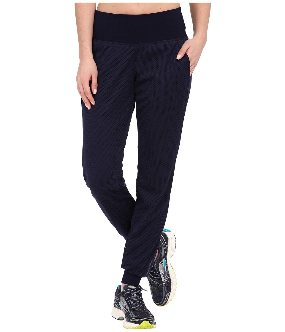 Brooks - Run-Thru Pants (Navy) Women's Workout