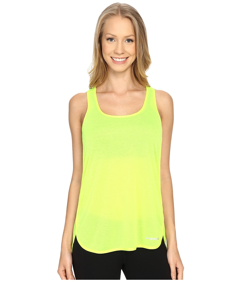 Brooks - Ghost Racerback Top (Nightlife) Women's Sleeveless