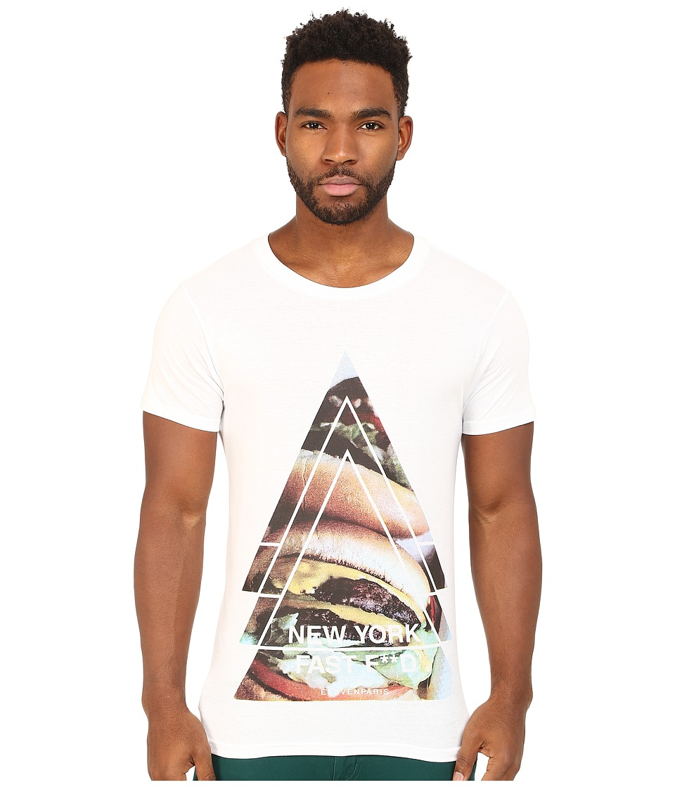 Eleven Paris - York Tee (White) Men's T Shirt