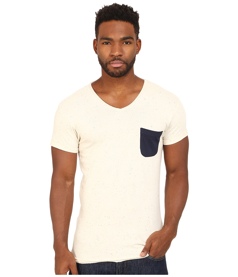 Eleven Paris - Babico Tee (Motteled White) Men's T Shirt