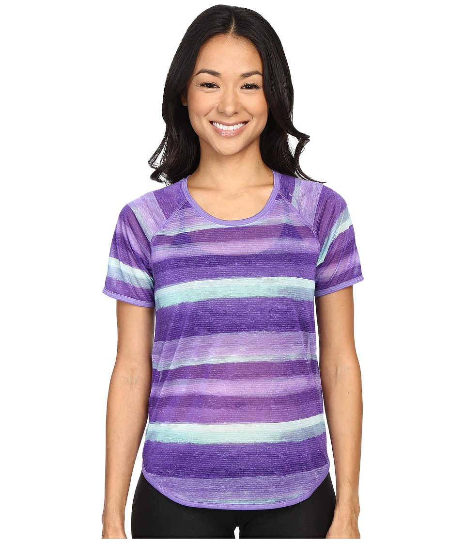 Brooks - Ghost Short Sleeve Top (Dusk Scape) Women's Short Sleeve Pullover
