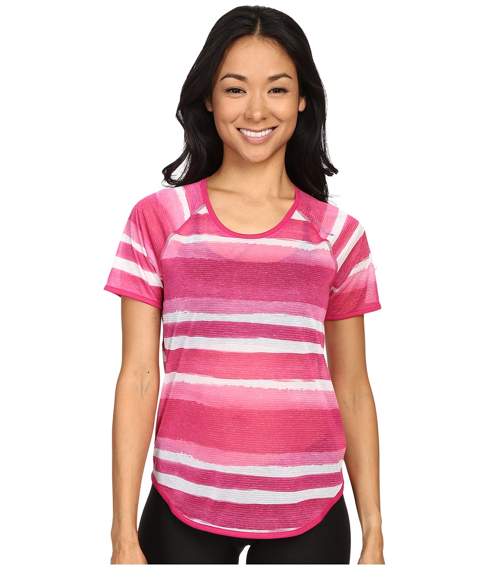 Brooks - Ghost Short Sleeve Top (Bloom Scape) Women's Short Sleeve Pullover