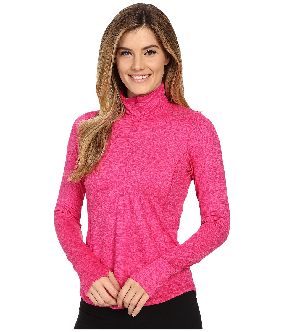 Brooks - Dash 1/2 Zip (Heather Bloom) Women's Long Sleeve Pullover