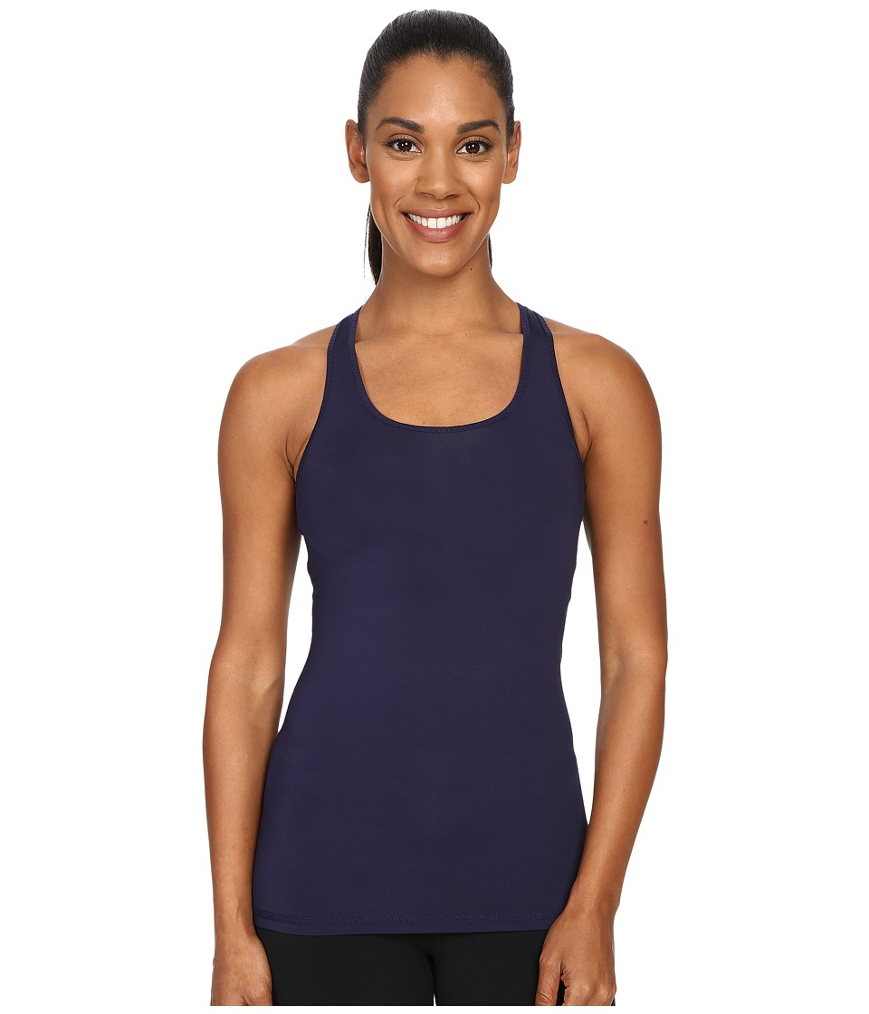 Brooks - Pick-Up Tank Top (Navy) Women's Sleeveless