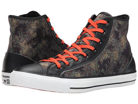Converse - Chuck Taylor Overlay Hi (Cactus/Black) Classic Shoes