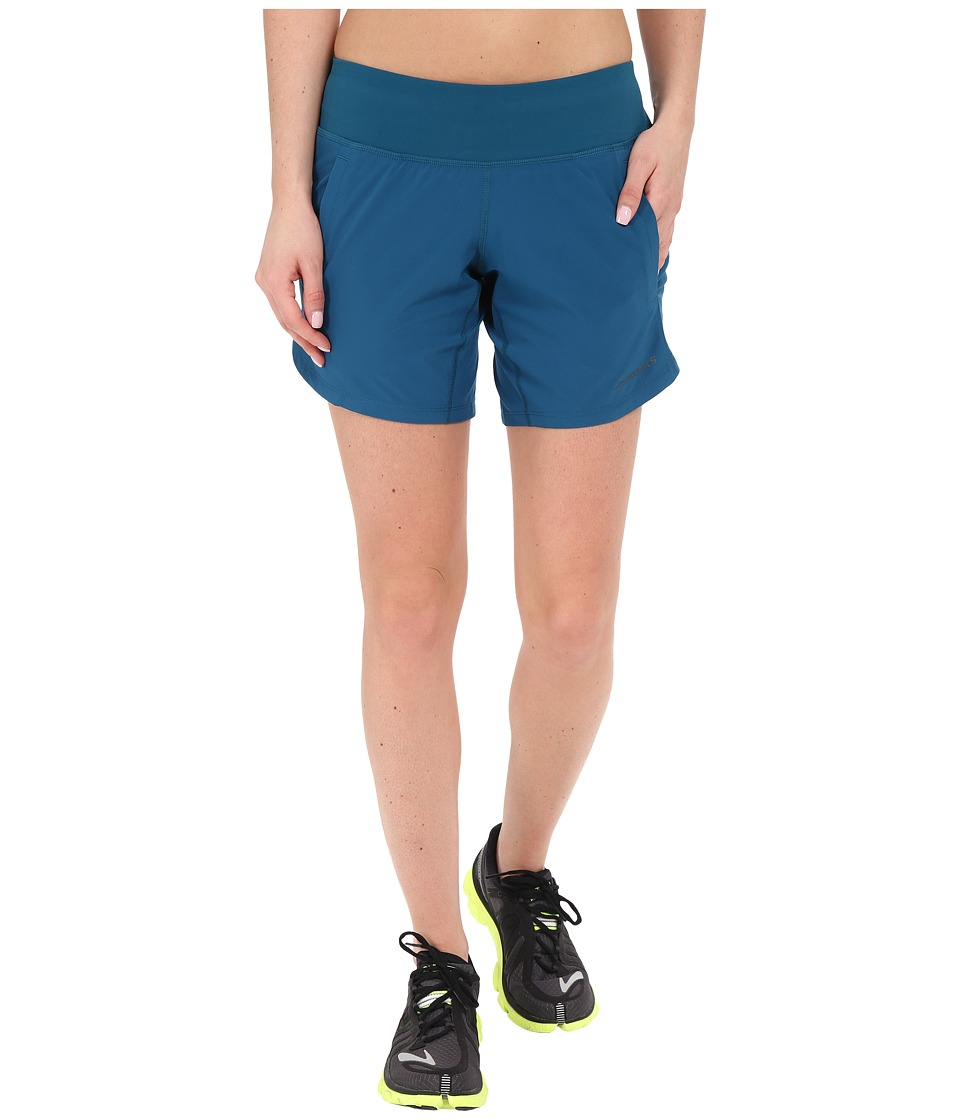 Brooks - Chaser 7 Shorts (River) Women's Shorts