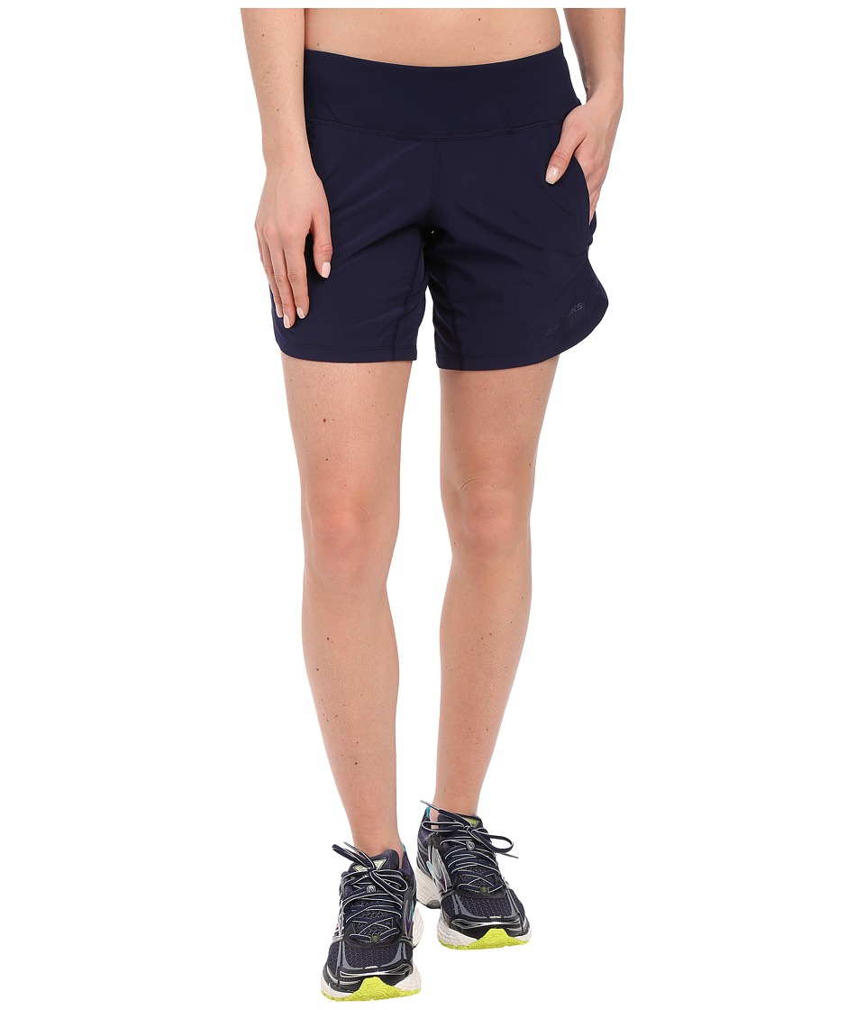 Brooks - Chaser 7 Shorts (Navy) Women's Shorts
