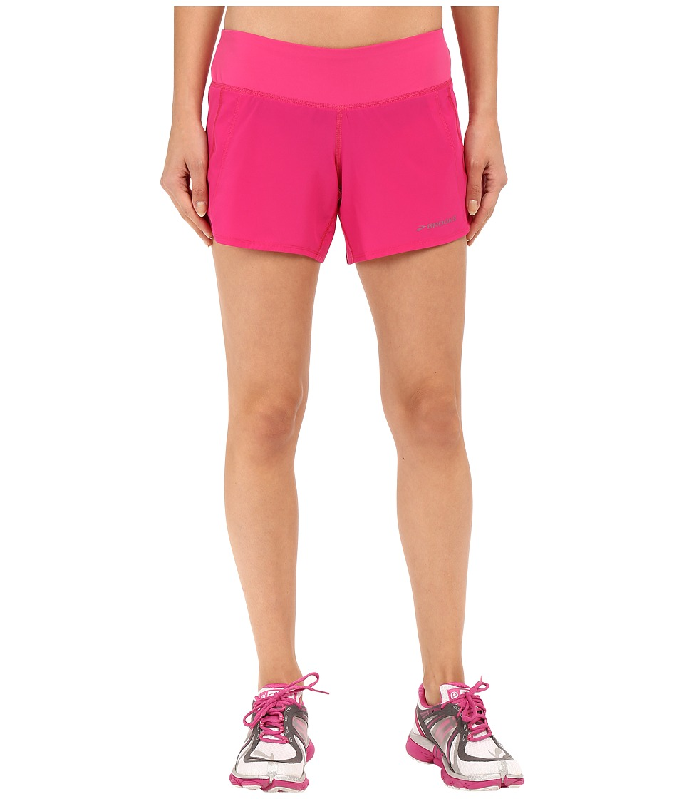 Brooks - Chaser 5 Shorts (Bloom) Women's Shorts