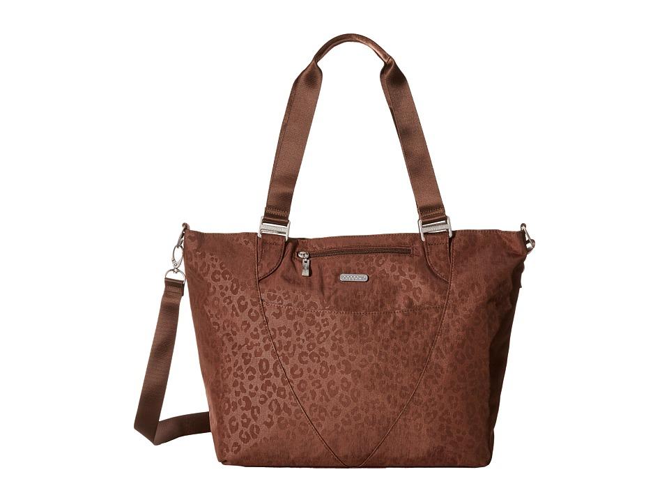 Baggallini - Avenue Tote (Mocha/Cheetah) Tote Handbags