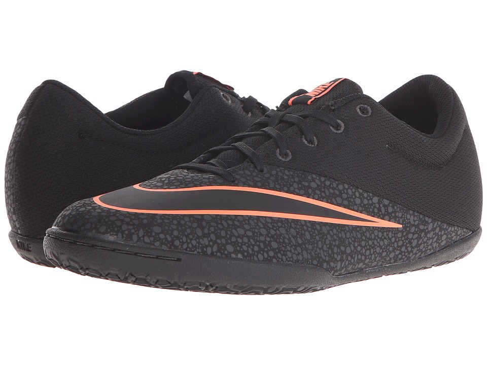 Nike - Mercurial Pro IC (Black/Anthracite/Black) Men's Soccer Shoes