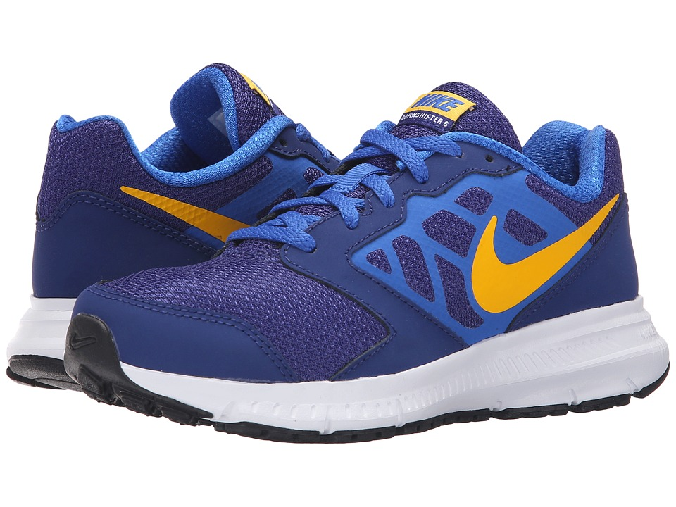 Nike Kids - Downshifter 6 (Little Kid/Big Kid) (Deep Royal Blue/Hyper Cobalt/White/Varsity Maize) Boys Shoes