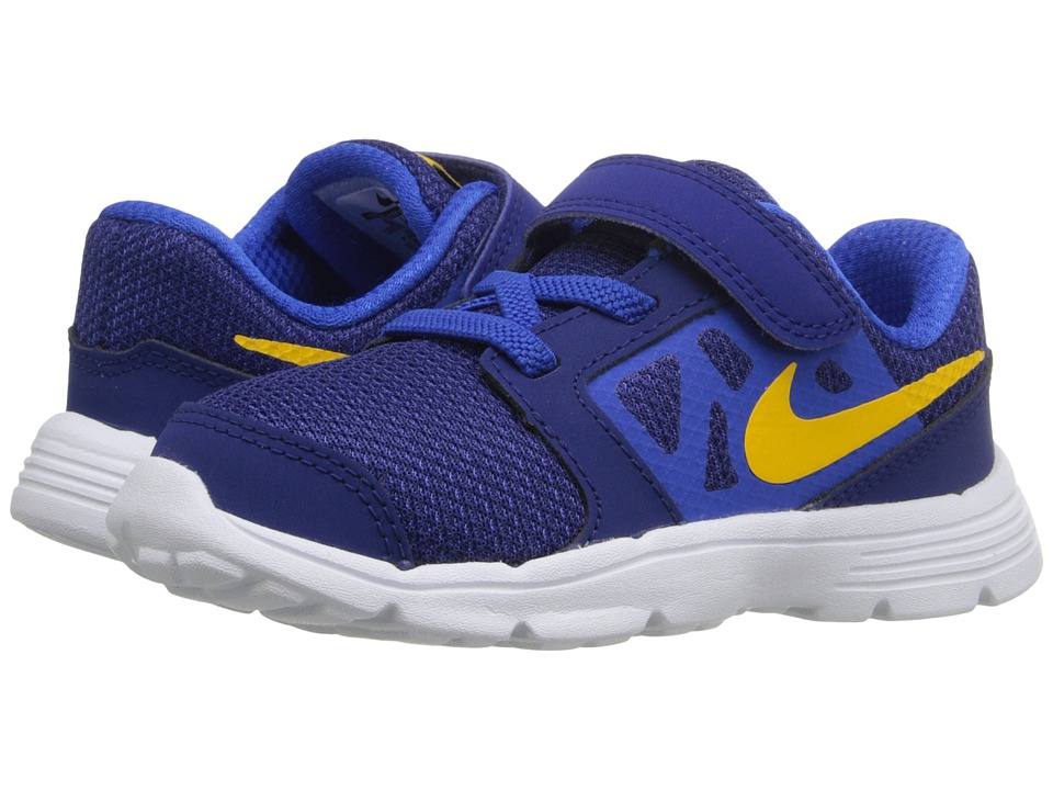 Nike Kids Downshifter 6 (Infant/Toddler) (Deep Royal Blue/Hyper Cobalt/White/Varsity Maize) Boys Shoes