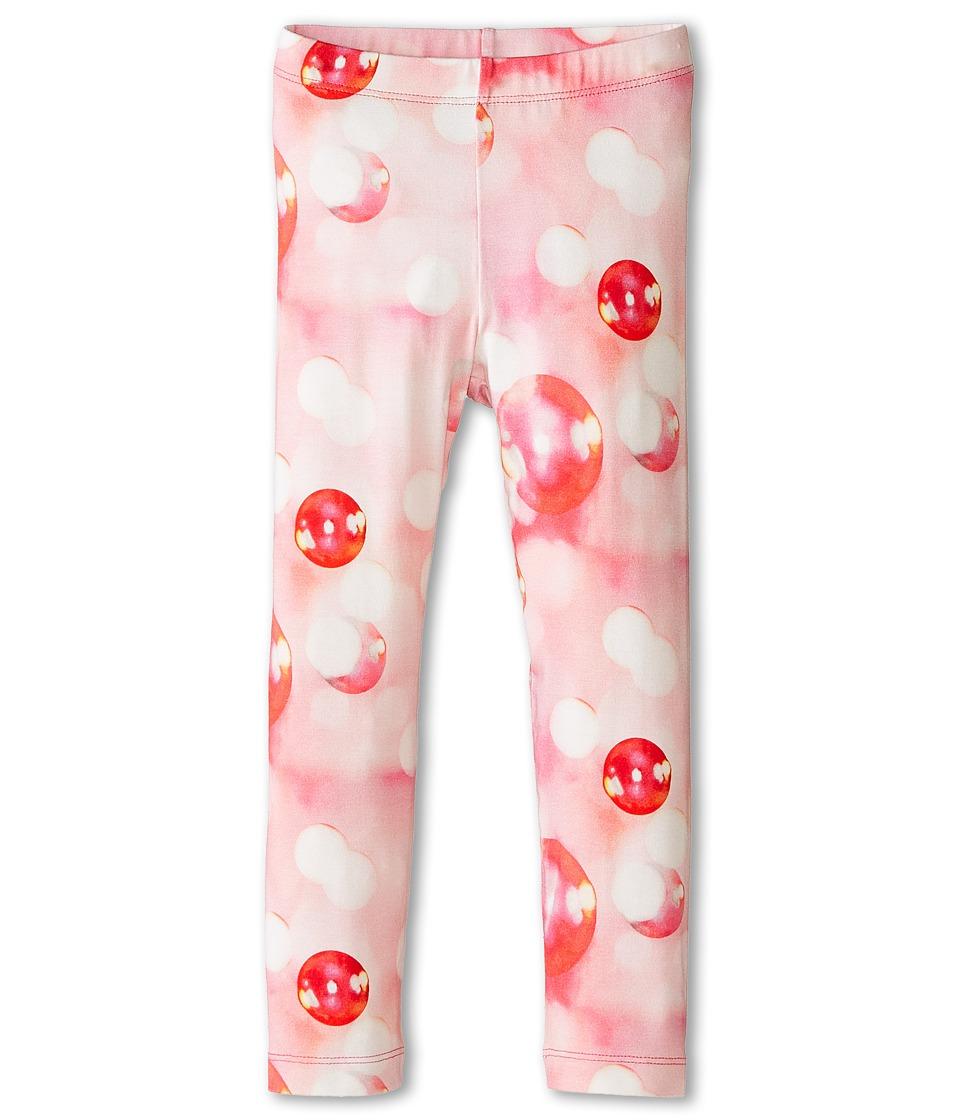 Junior Gaultier - Plume All Over Print Leggings (Toddler/Little Kid) (Shocking Pink) Girl's Casual Pants