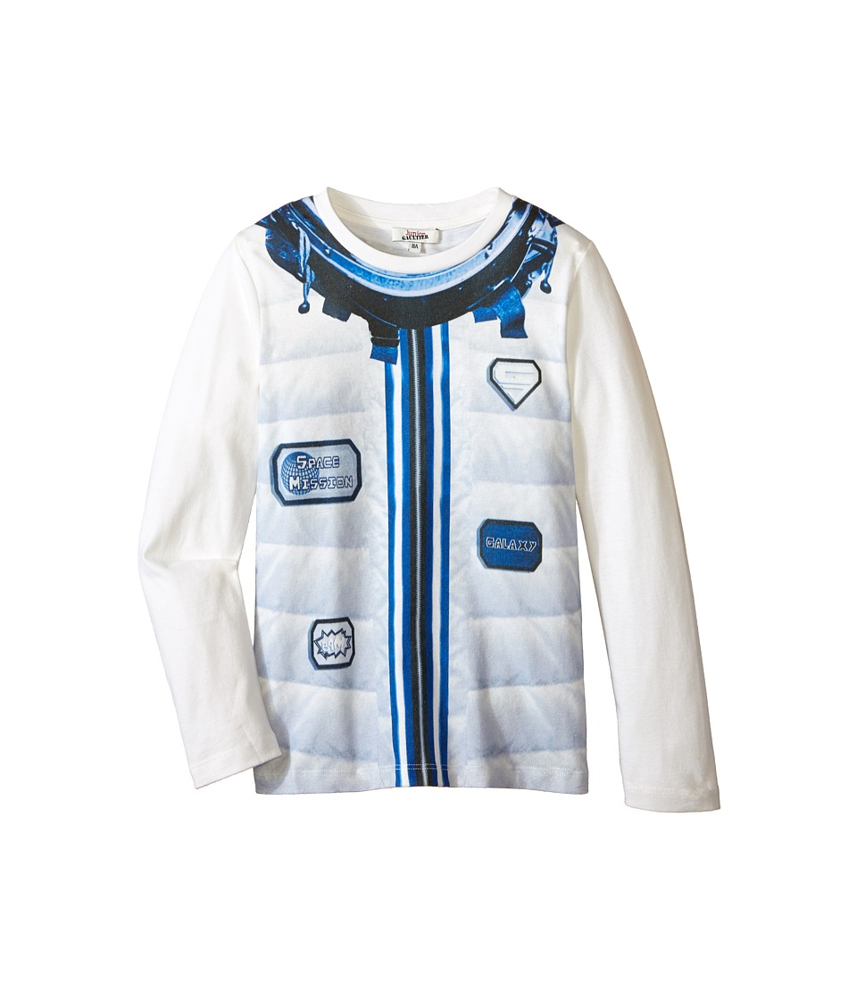 Junior Gaultier - Pixie Tee Shirt (Big Kid) (Ecru) Boy's T Shirt plus size,  plus size fashion plus size appare