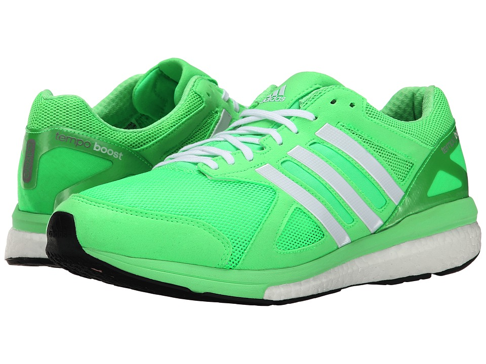 adidas - adizero Tempo 7 M (Flash Green/Zero Metallic/Black) Men's Shoes
