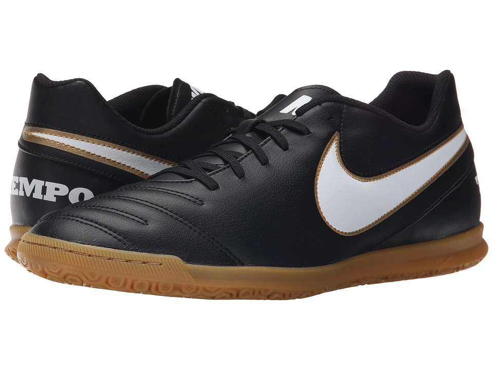 Nike - Tiempo Rio III IC (Black/White) Men's Soccer Shoes