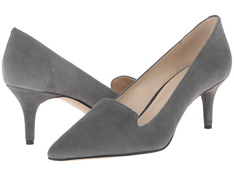 Nine West - Mafalda (Dark Grey Suede) Women's 1-2 inch heel Shoes