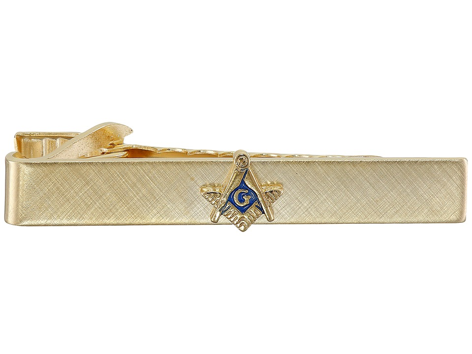 Stacy Adams - Masonic Tie Bar II (Gold) Ties