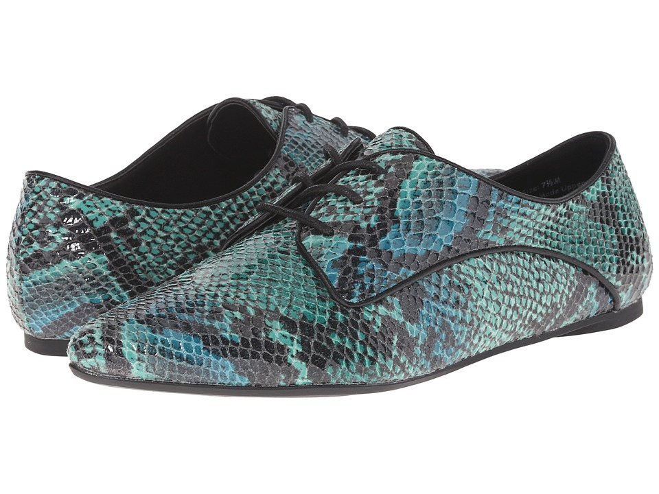 Penny Loves Kenny - North (Blue/Green) Women's Shoes