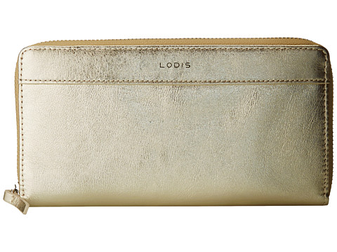 Lodis Accessories - Small Ivy Zip Around (Tangerine) Wallet Handbags