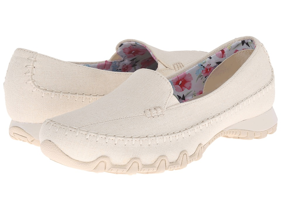 SKECHERS - Bikers - Neverland (Natural) Women's Slip on Shoes