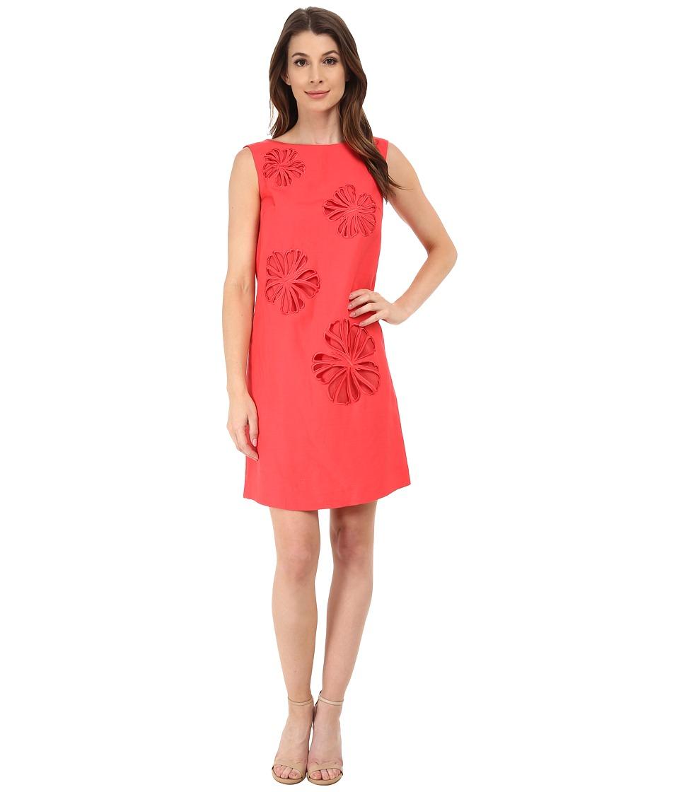 Tahari by ASL - Jess - Q Dress (Tomato Red) Women's Dress