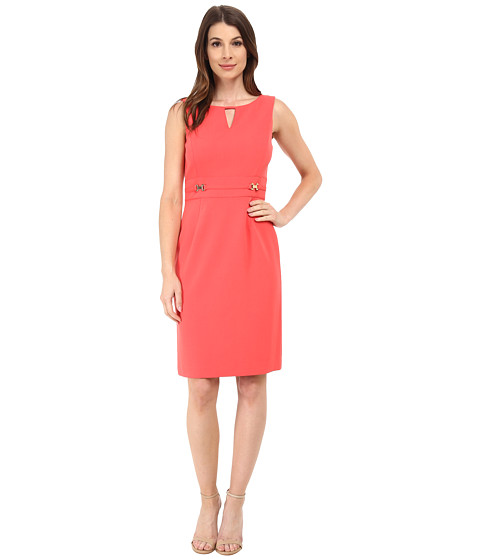Tahari by ASL - Valerie - B Dress (Coral) Women