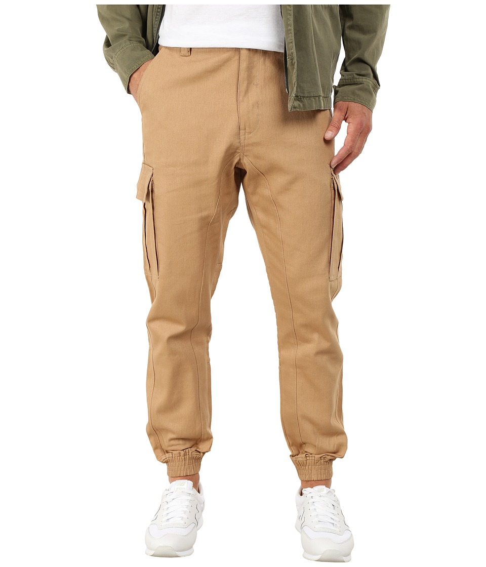 Staple - Operator Cargo Pants (Khaki) Men's Casual Pants