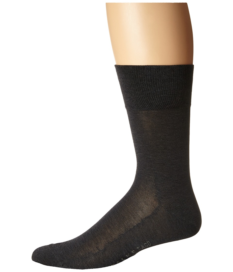 Falke - Tiago Crew Socks (Anthracite) Men