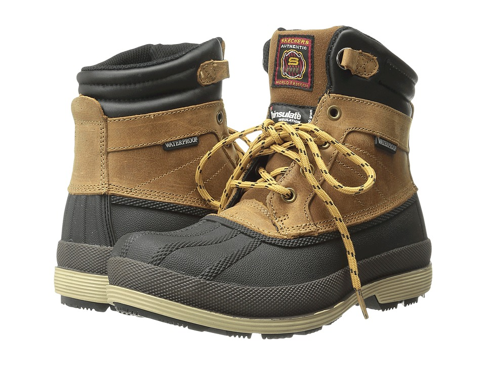 SKECHERS Work - Robards Alberton (Brown) Women's Work Boots