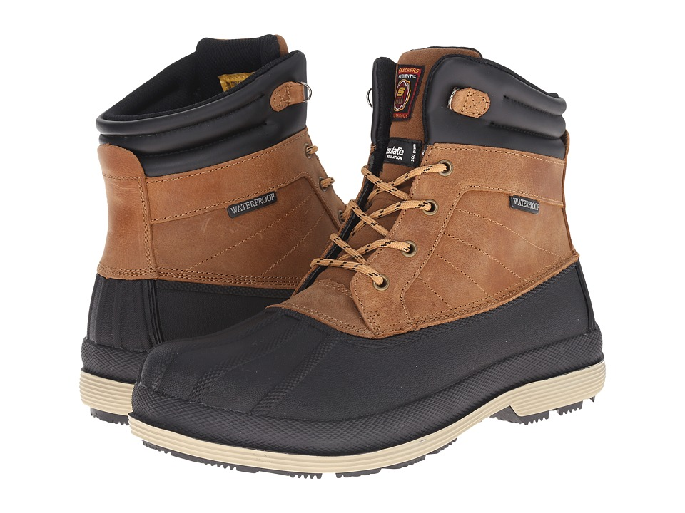 SKECHERS Work - Robards (Brown) Men's Work Boots