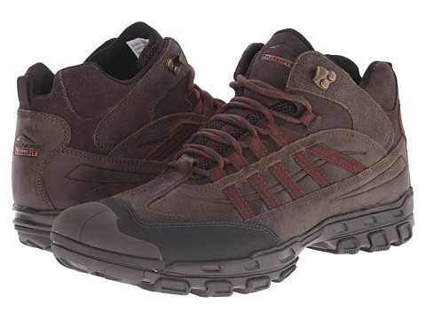 SKECHERS - Gander Cruzado (Dark Brown) Men's Shoes