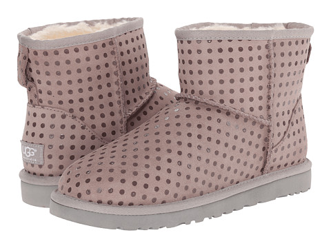 UGG - Classic Mini Shiny Dot (Seal) Women's Shoes