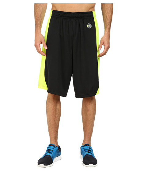Reebok - Baseball SE Shorts (Black/Yellow) Men